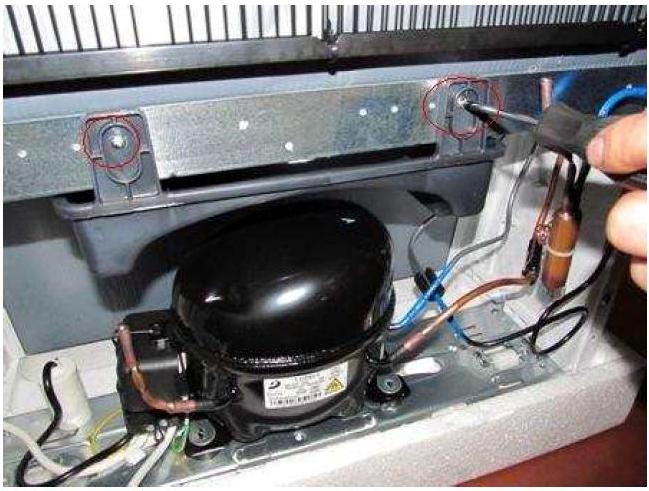 Замена линейного компрессора холодильника