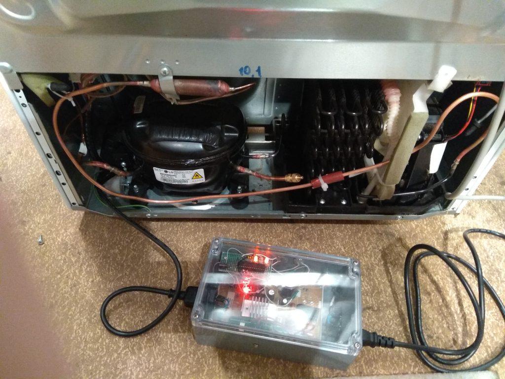 Толкатель (пушер) инверторных моторов холодильника