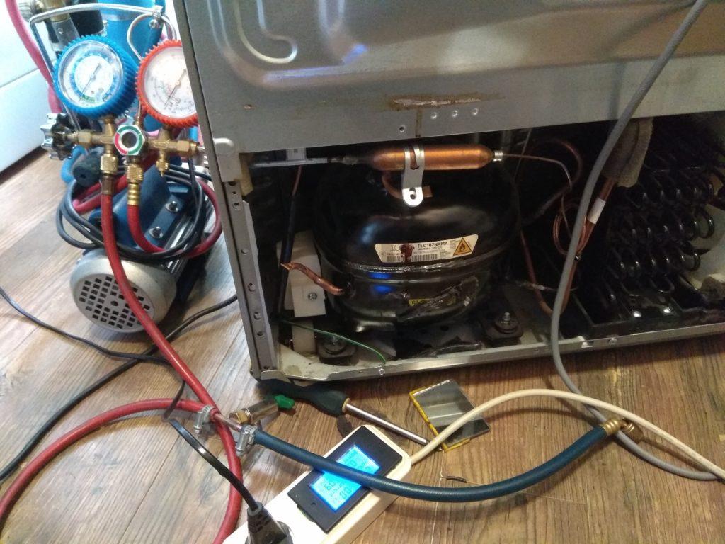 Линейный инверторный компрессор LG вышел из страя