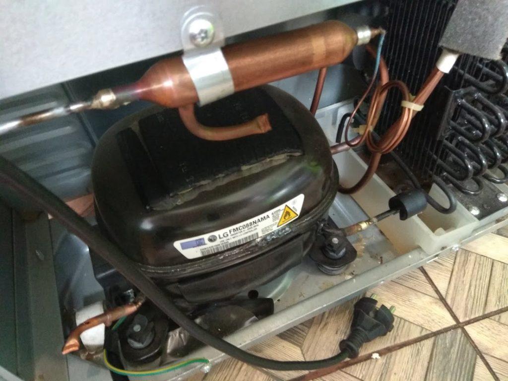 Эти линейный инверторные компрессора не славятся качеством. Ремонт холодильников LG