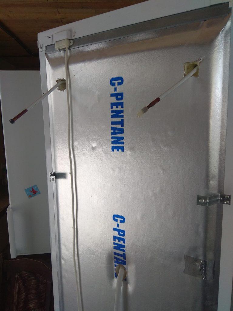 Замена испарителя холодильника