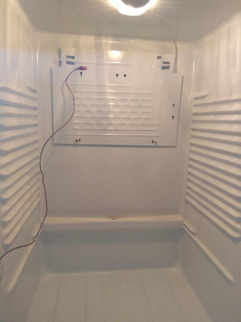 Проверка температуры испарителя и заправка холодильника правильной дозой